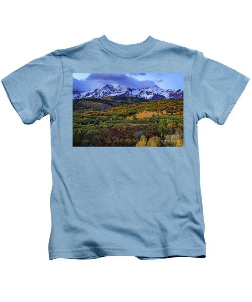 Autumn At The Dallas Divide Kids T-Shirt