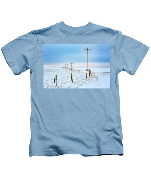 Bend In The Road Kids T-Shirt