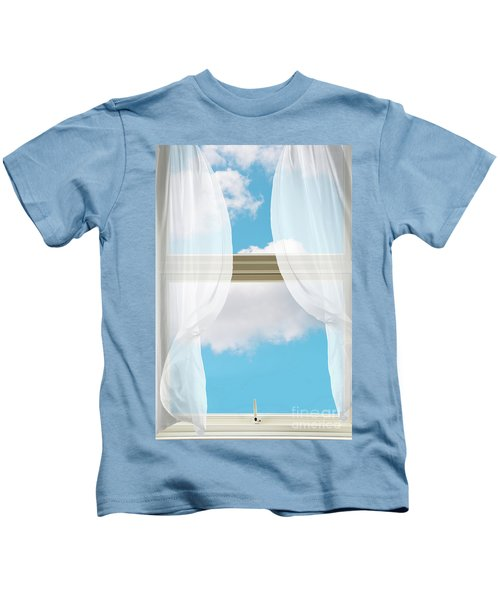 Billowing Voile Curtains Kids T-Shirt