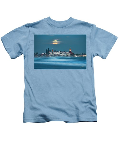 Blue Moon 48x72 Kids T-Shirt