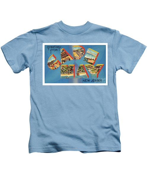 Cape May Greetings - Version 2 Kids T-Shirt