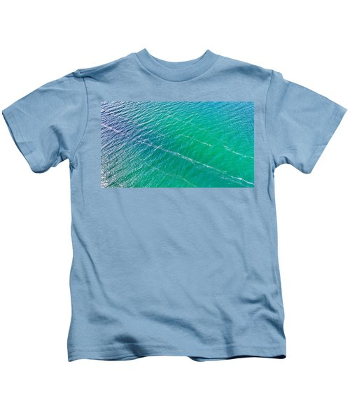 Clear Water Imagery  Kids T-Shirt