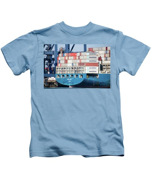 Container Ship Kids T-Shirt