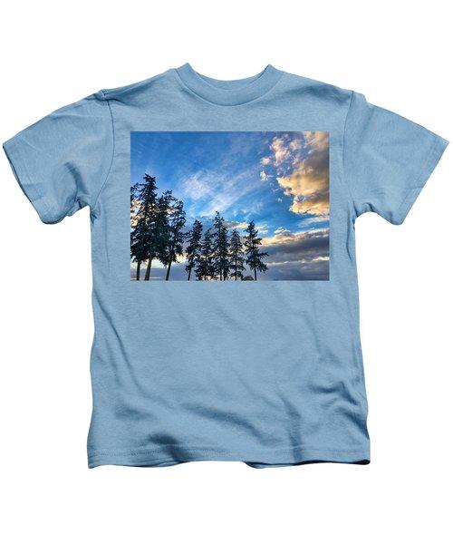 Crisp Skies Kids T-Shirt