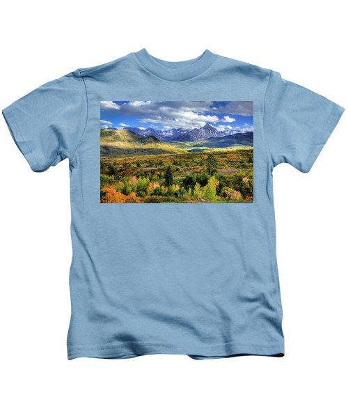 Dallas Divide  Kids T-Shirt