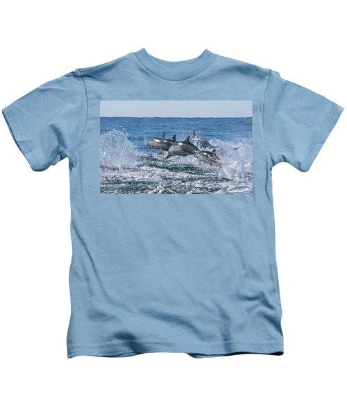 Dancing Dolphins Kids T-Shirt