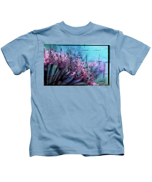 Dandelion Abstract Kids T-Shirt