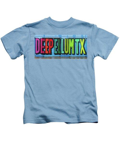 Deep Ellum Wall Art Kids T-Shirt