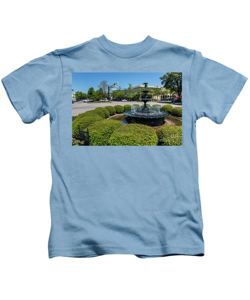 Downtown Aiken Sc Fountain Kids T-Shirt