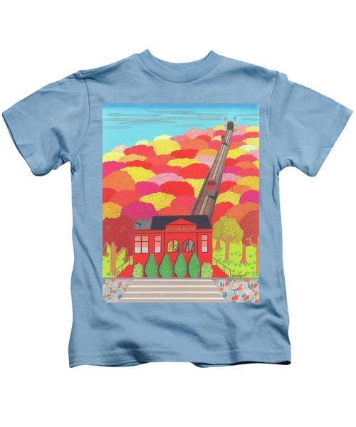 Duquesne Incline Kids T-Shirt