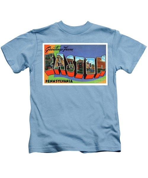 Easton Greetings Kids T-Shirt