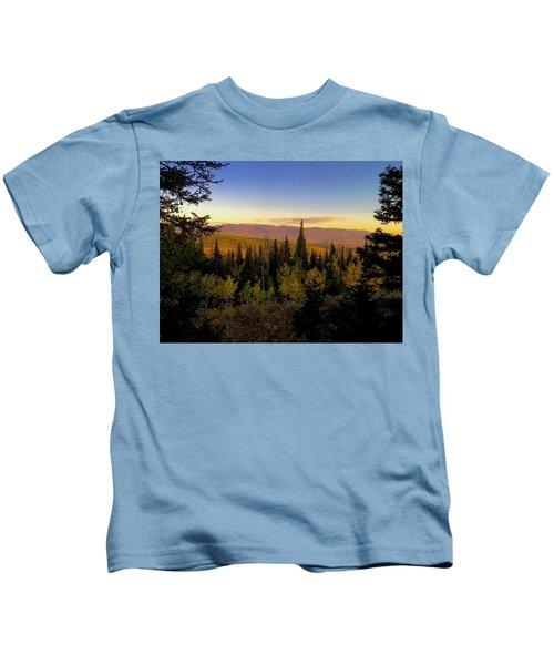 Elk Bluff  Kids T-Shirt