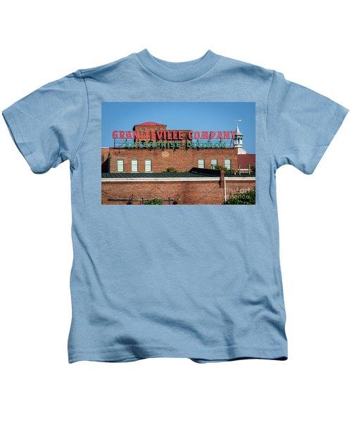 Enterprise Mill - Graniteville Company - Augusta Ga 1 Kids T-Shirt