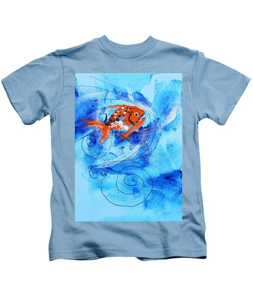 Fake Nemo Fish Kids T-Shirt