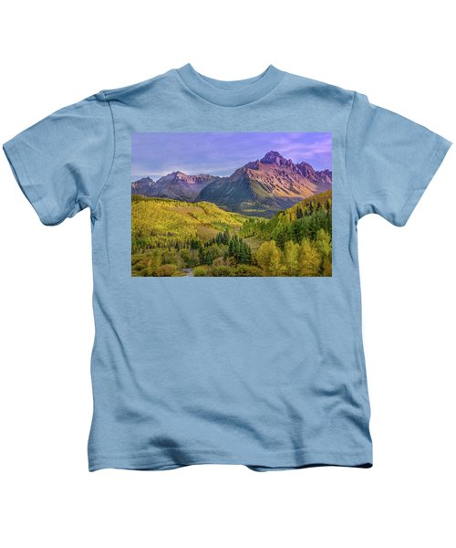 Fall Color In The San Juan Mountains Kids T-Shirt