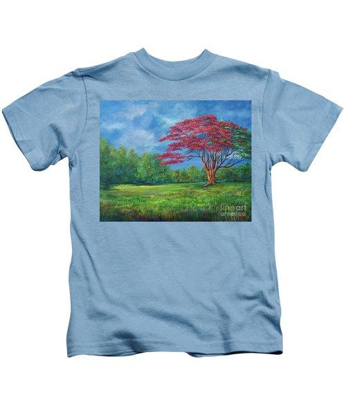 Flame Tree Kids T-Shirt