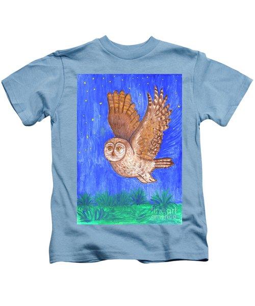 Flying Owl Kids T-Shirt