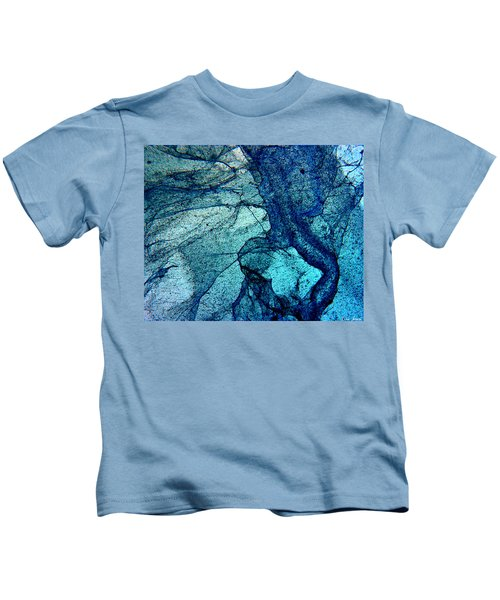 Frozen In Blue Kids T-Shirt