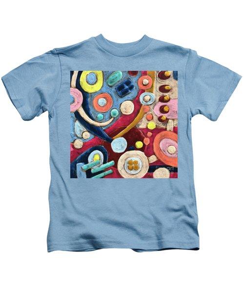 Geometric Abstract 2 Kids T-Shirt