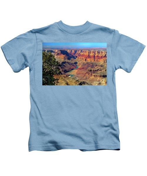Grand Canyon Sunset Kids T-Shirt
