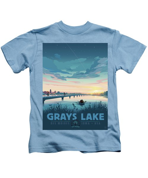 Grays Lake Kids T-Shirt