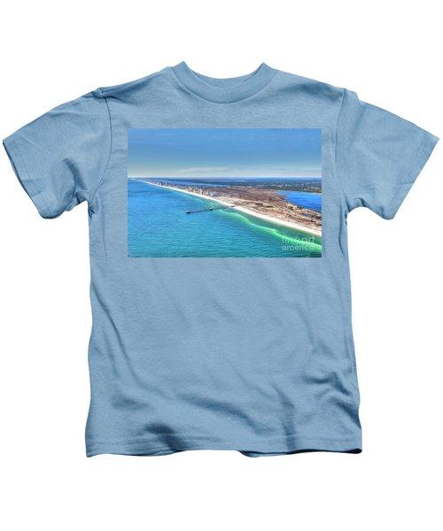 Gsp Pier And Beach Kids T-Shirt