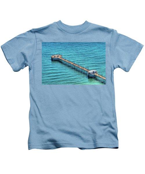 Gulf State Park Pier Kids T-Shirt
