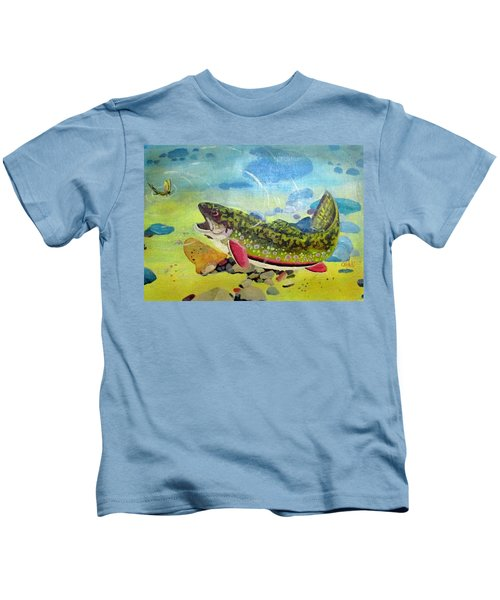 Hungry Trout Kids T-Shirt