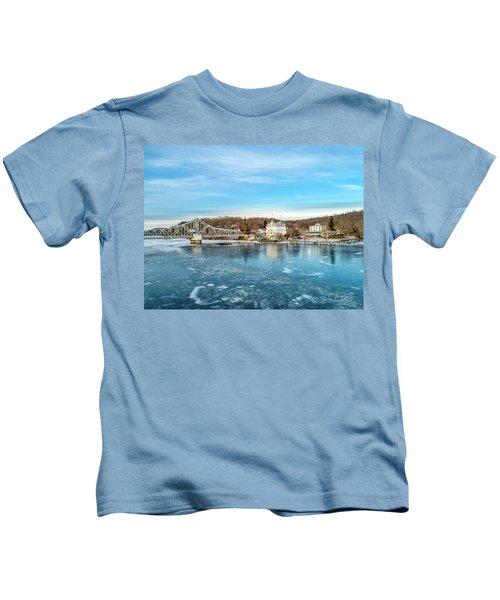 Ice Blue   Kids T-Shirt