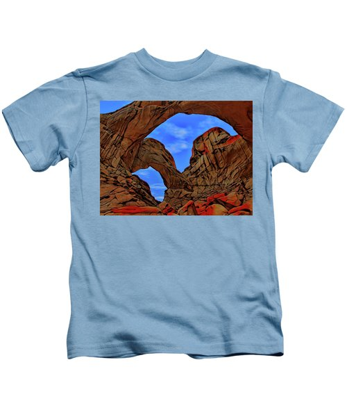 Impressions Of Double Arch Kids T-Shirt