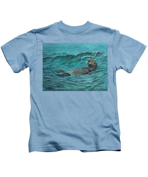 It's My Otter Day Off.....sea Otter Kids T-Shirt