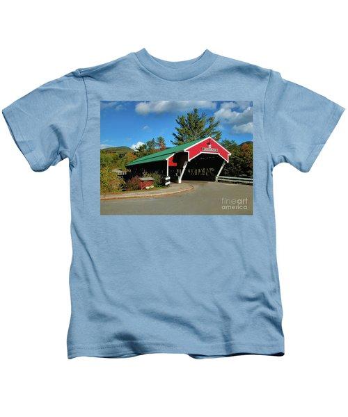 Jackson Covered Bridge Kids T-Shirt