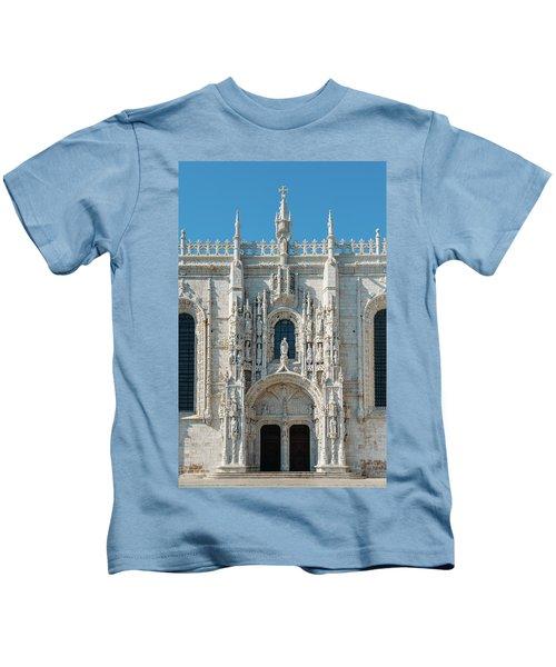 Jeronimos Monastery, Portugal Kids T-Shirt