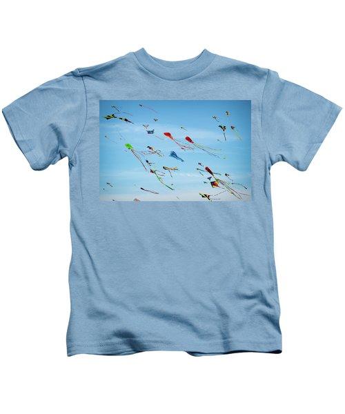 Kites Kites Kites Kids T-Shirt
