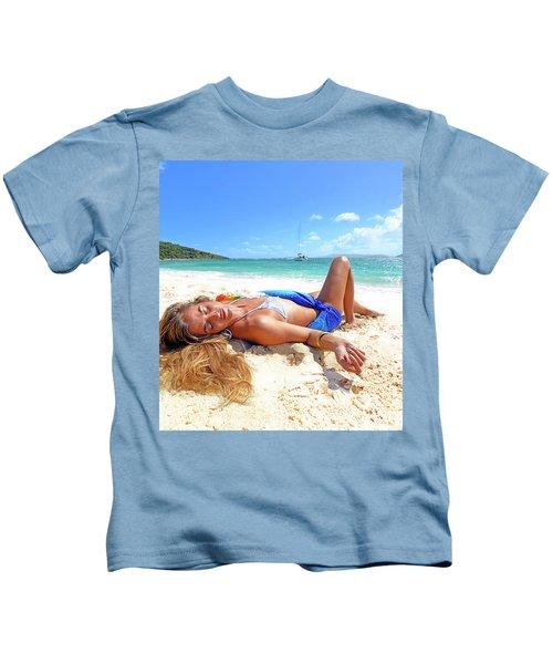 Lady Of The Leewards Kids T-Shirt