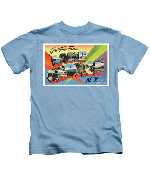 Lake George Greetings Kids T-Shirt