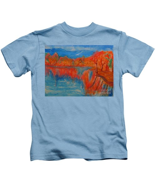 Lake Mirror Kids T-Shirt