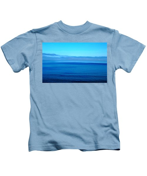 Lake Superior Blue Kids T-Shirt