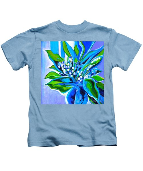 Lily Of The Valley Kids T-Shirt