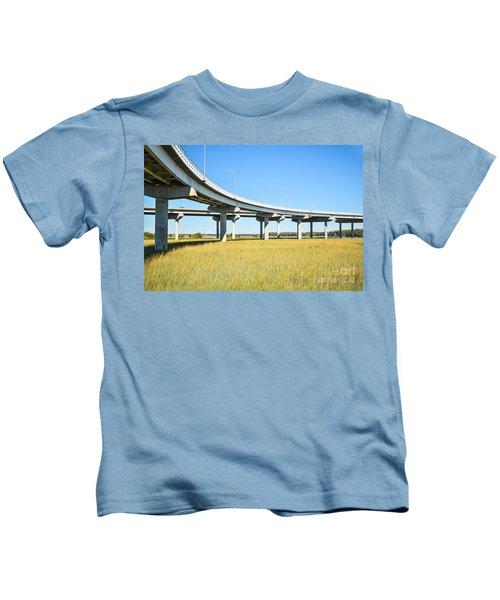 Long Concrete Bridge  Kids T-Shirt