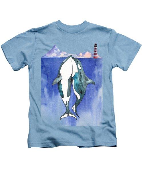 Love At Sea - Painting Kids T-Shirt