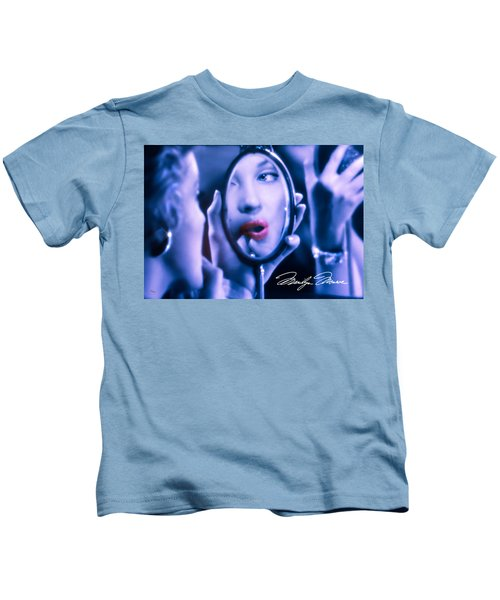 Marilyn Monroe - Looking Into Your Soul Kids T-Shirt
