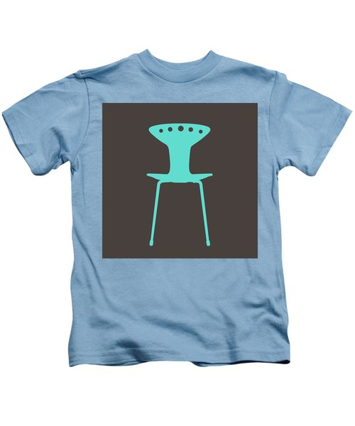 Mid Century Chair II Kids T-Shirt