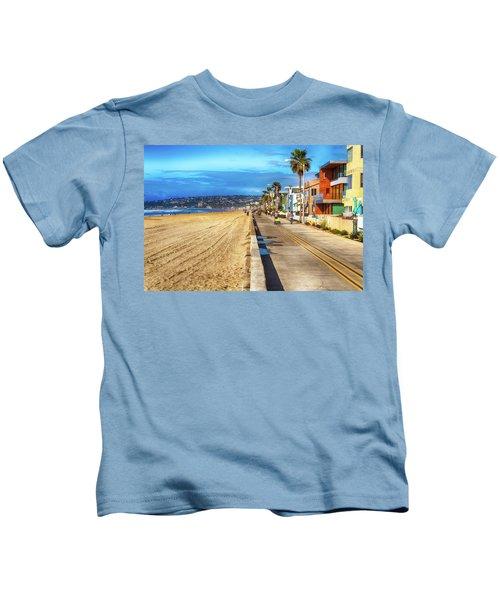 Mission Beach Boardwalk Kids T-Shirt