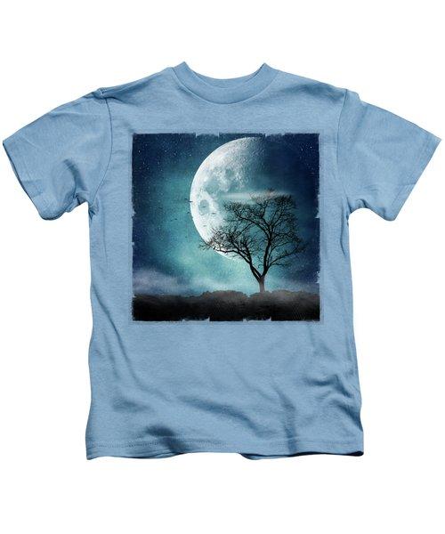Moon Blues Kids T-Shirt