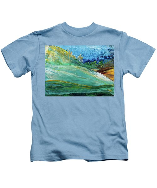 Mother Nature - Landscape View Kids T-Shirt