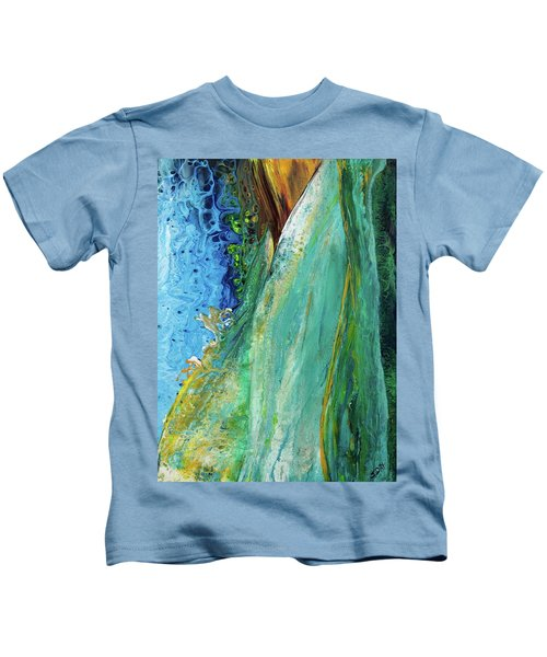 Mother Nature - Portrait View Kids T-Shirt