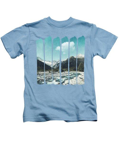Mountain River Kids T-Shirt