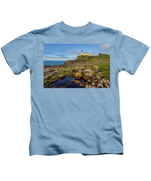 Neist Point Lighthouse No. 2 Kids T-Shirt