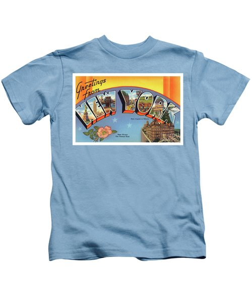 New York Greetings - Version 4 Kids T-Shirt